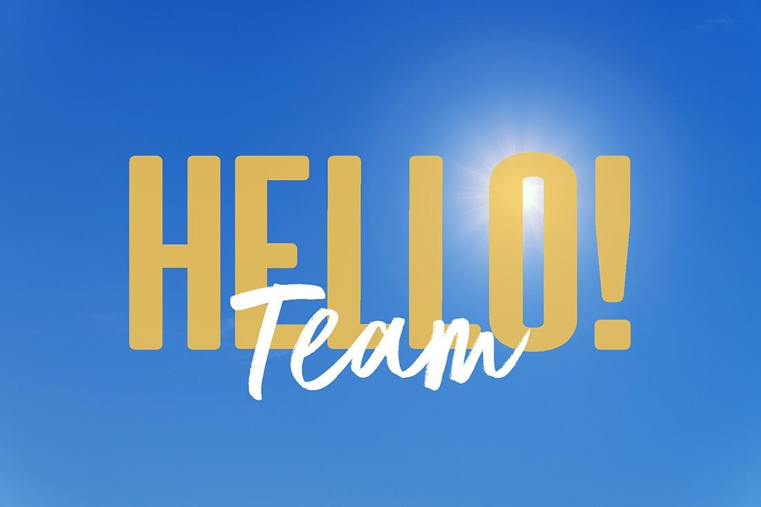 Hello! Team